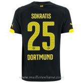 Maillot Borussia Dortmund Sokratis Exterieur 2014 2015 à Vendre