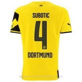 Maillot Borussia Dortmund Subotic Domicile 2014 2015 Achat à Prix Bas