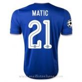 Maillot Chelsea Matic Domicile 2015 2016 Remise Lyon
