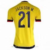 Maillot Colombie Jackson Domicile 2015 2016 Paris Boutique