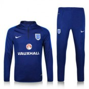 Maillot De Angleterre Formation Ml Bleu 2016/2017 Promotions
