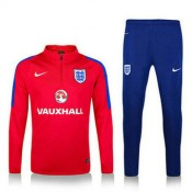 Maillot De Angleterre Formation Ml Rouge 2016/2017 Rabais