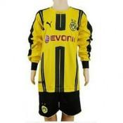 Maillot De Borussia Dortmund Ml Enfant Domicile 2016/2017 Boutique