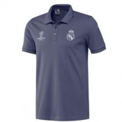Maillot De Polo Real Madrid Gris Ucl 2016 2017 France Magasin