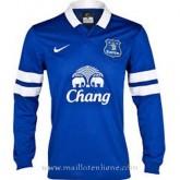 Maillot Everton Manche Longue Domicile 2013-2014 Paris