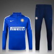 Maillot Formation Ml Inter Milan Bleu 2016 2017 Vente En Ligne