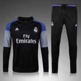 Maillot Formation Ml Real Madrid Noir 2016 Bonnes Affaires