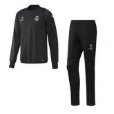Maillot Formation Ml Real Madrid Noir Ucl 2016 2017 Boutique