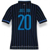 Maillot Inter Milan Joelobi Domicile 2014 2015 Bonnes Affaires
