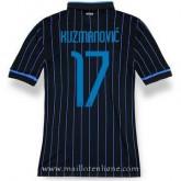Maillot Inter Milan Kuzmanovic Domicile 2014 2015 France Métropolitaine