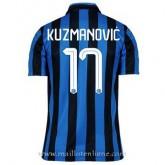 Maillot Inter Milan Kuzmanovic Domicile 2015 2016 France Pas Cher