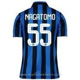 Maillot Inter Milan Nagatomo Domicile 2015 2016 Pas Cher