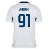 Maillot Inter Milan Shaqiri Exterieur 2015 2016 Promotions