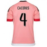 Maillot Juventus Caceres Exterieur 2015 2016 France Magasin