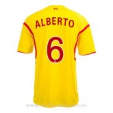 Maillot Liverpool Alberto Exterieur 2014 2015 Promos Code