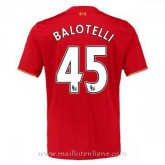 Maillot Liverpool Balotelli Domicile 2015 2016 Réduction