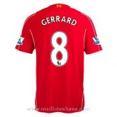 Maillot Liverpool Gerrard Domicile 2014 2015 Officiel