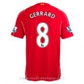 Maillot Liverpool Gerrard Domicile 2014 2015 Officiel