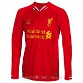 Maillot Liverpool Manche Longue Domicile 2013-2014 Paris Boutique
