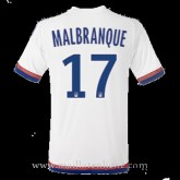 Maillot Lyon Malbranque Domicile 2015 2016 Europe