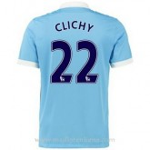 Maillot Manchester City Clichy Domicile 2015 2016 Site Officiel