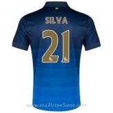Maillot Manchester City Silva Exterieur 2014 2015 Boutique France