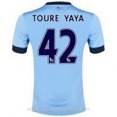 Maillot Manchester City Toure Yaya Domicile 2014 2015 Commerce De Gros