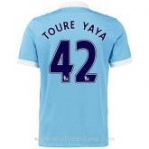 Maillot Manchester City Toure Yaya Domicile 2015 2016 Boutique Paris