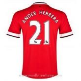 Maillot Manchester United Ander Herrera Domicile 2014 2015 Pas Cher Prix