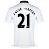 Maillot Manchester United Ander Herrera Exterieur 2014 2015 Pas Cher Provence