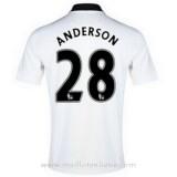 Maillot Manchester United Anderson Exterieur 2014 2015 PasCher Fr