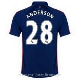 Maillot Manchester United Anderson Troisieme 2014 2015 Personnalisé