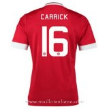 Maillot Manchester United Carrick Domicile 2015 2016 Promotions