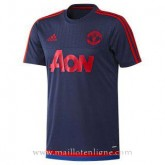 Maillot Manchester United Champion Formation Bleu Marine 2015 Réduction