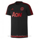 Maillot Manchester United Champion Formation Noir 2015 Réduction Prix