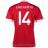 Maillot Manchester United Chicharito Domicile 2015 2016 Site Officiel France