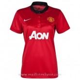 Maillot Manchester United Femme Domicile 2013-2014 Lyon