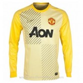 Maillot Manchester United Manche Longue Goalkeeper 2013-2014 Moins Cher