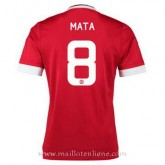 Maillot Manchester United Mata Domicile 2015 2016 France Pas Cher
