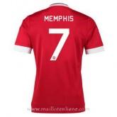Maillot Manchester United Memphis Domicile 2015 2016 Magasin Lyon