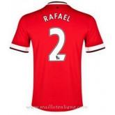 Maillot Manchester United Rafael Domicile 2014 2015 Paris