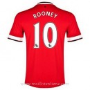 Maillot Manchester United Rooney Domicile 2014 2015 Pas Cher Marseille