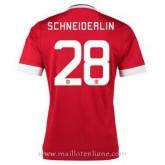 Maillot Manchester United Schneiderlin Domicile 2015 2016 Pas Cher Provence