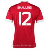 Maillot Manchester United Smalling Domicile 2015 2016 Prix France