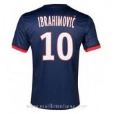 Maillot Psg Ibrahimovic Domicile 2013-2014 Soldes Paris