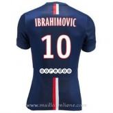 Maillot Psg Ibrahimovic Domicile 2014 2015 Soldes