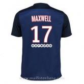 Maillot Psg Maxwell Domicile 2015 2016 Boutique