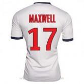 Maillot Psg Maxwell Exterieur 2013-2014 Ventes Privées