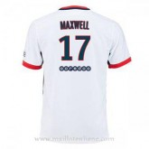 Maillot Psg Maxwell Exterieur 2015 2016 Boutique France