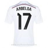 Maillot Real Madrid Arbeloa Domicile 2014 2015 Rabais Paris